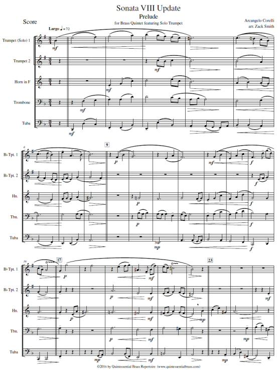 corelli sonata 8 trumpet pdf